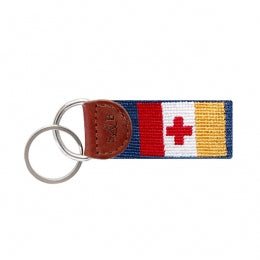 Kappa Alpha Needlepoint Key Chain