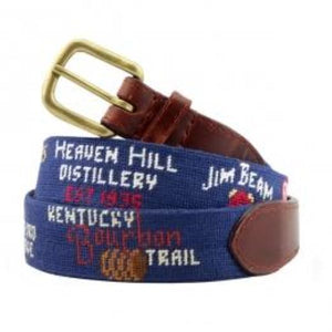 Kentucky Bourbon Trail Navy Belt