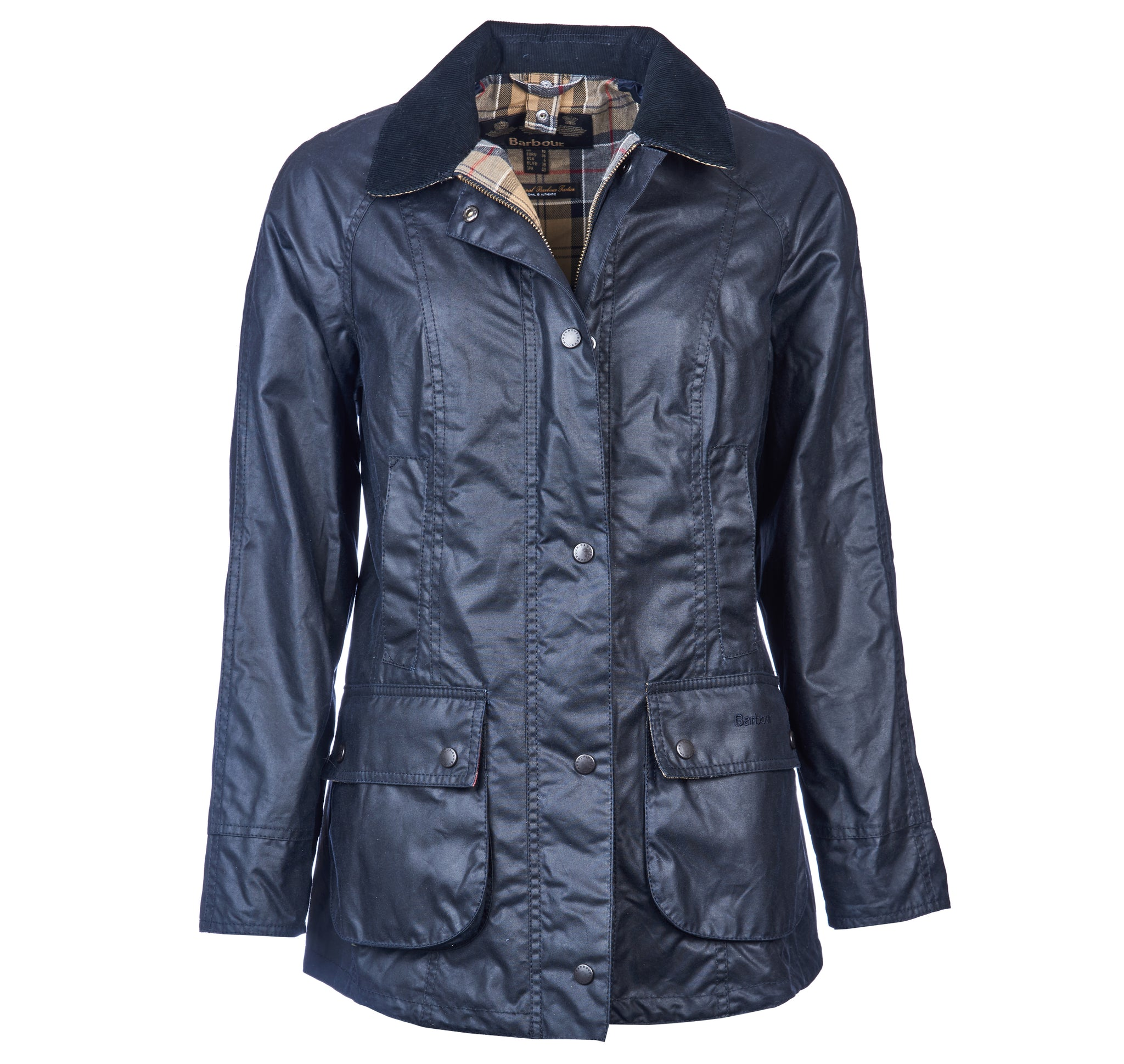 Barbour Ladies Navy Beadnell