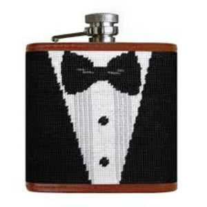 Smathers and Branson Black Tie Flask