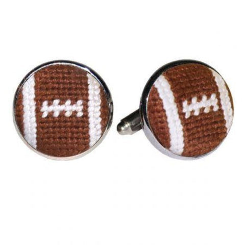 Smathers and Branson Football Cuff Links