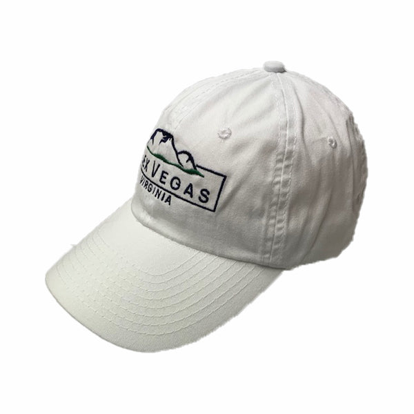 White Lex Vegas Hat Side