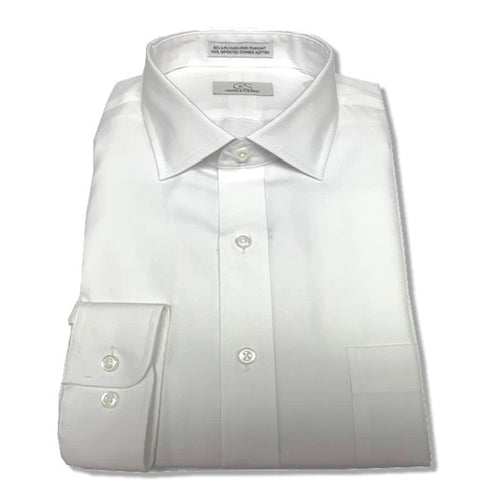 Dress Shirt Modified Spread Collar