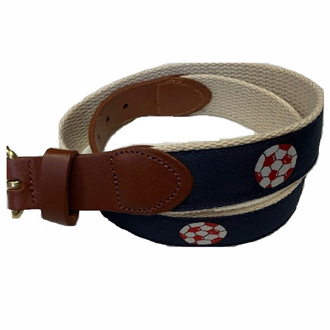Leather Man Soccer Belt