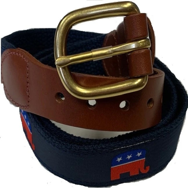 Leather Man Republican Belt