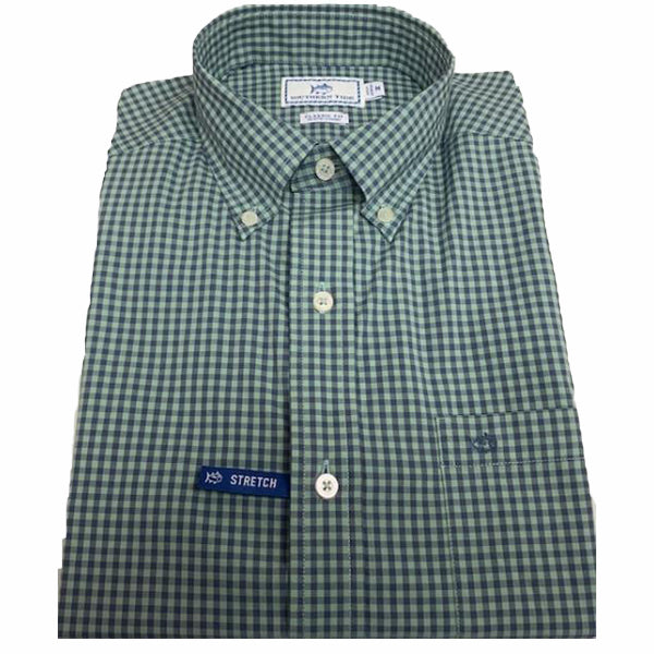 Southern Tide Gingham Shirt