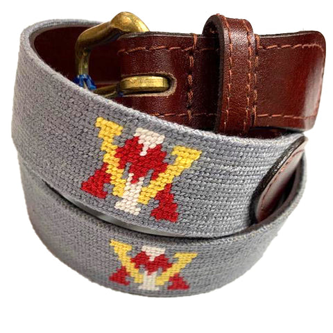 VMI Needlepoint Belt