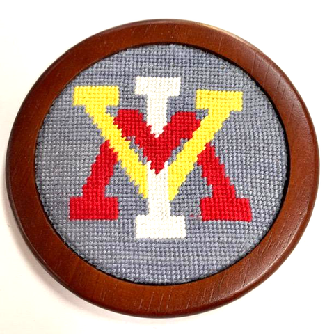 VMI Needlepoint Coasters