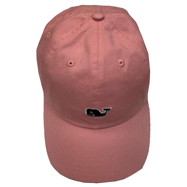 Vineyard Vines Pink Whale Logo Baseball Hat