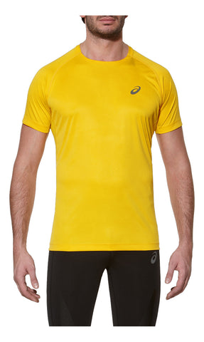 Asics Men's Fuji Trail Graphic Tee Spectra Yellow