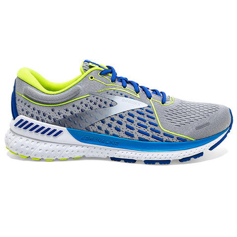 Brooks Adrenaline GTS 21 Men's Grey White Indigo