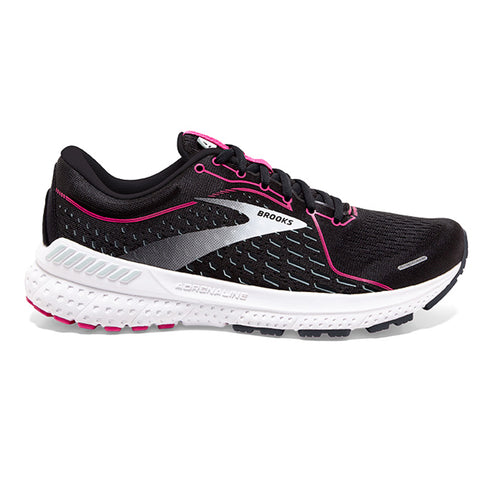 Brooks Adrenaline GTS 21  Wide Fit (D width) Women's Black Raspberry Sorbet Ebony