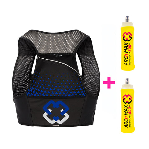 ARCH MAX HYDRATION VEST 8L BLUE - BLACK