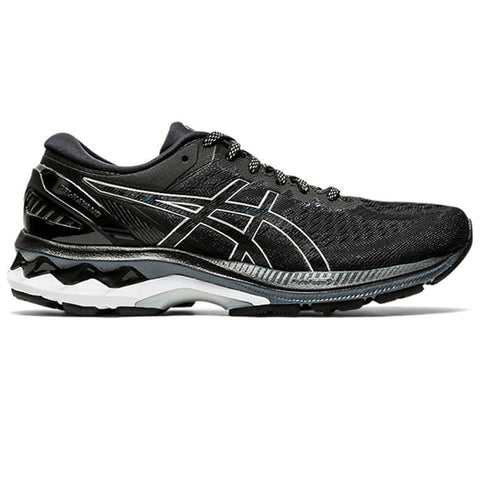 ASICS GEL KAYANO 27 WOMEN'S BLACK - SILVER