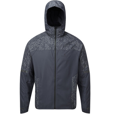 Ronhill Life Nightrunner Jacket Men's Charcoal Reflect