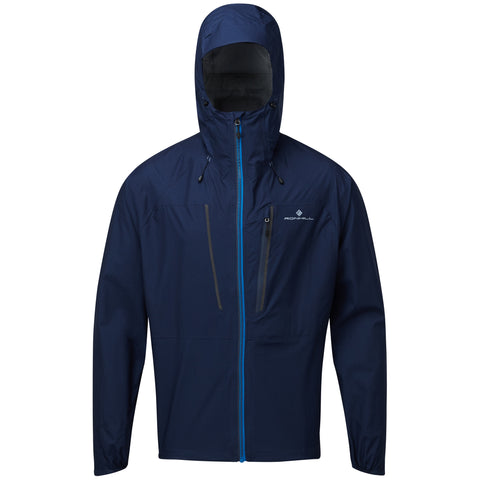 Ronhill Tech Fortify Jacket Men's' Deep Navy Powder Grey