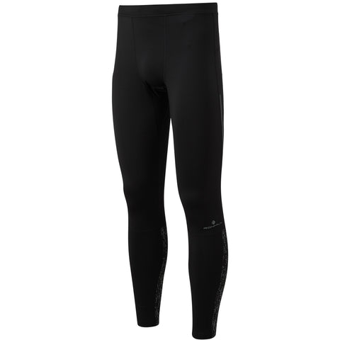 Ronhill Men's Life Night Runner Tight Black Reflect