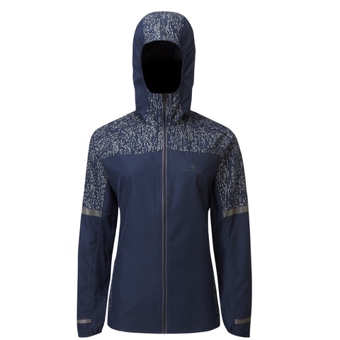 RONHILL WOMEN'S LIFE NIGHT RUNNER JACKET DEEP NAVY REFLECT