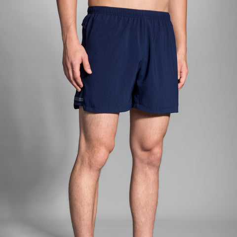 "BROOKS MEN'S SHERPA 5""  SHORT NAVY"
