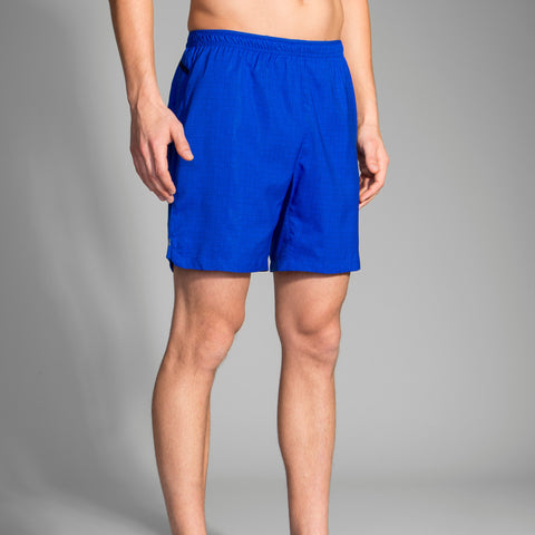 "BROOKS MEN'S SHERPA 7"" 2-IN-1 SHORT ROYAL"