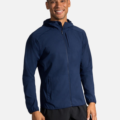 BROOKS CANOPY JACKET NAVY MEN'S