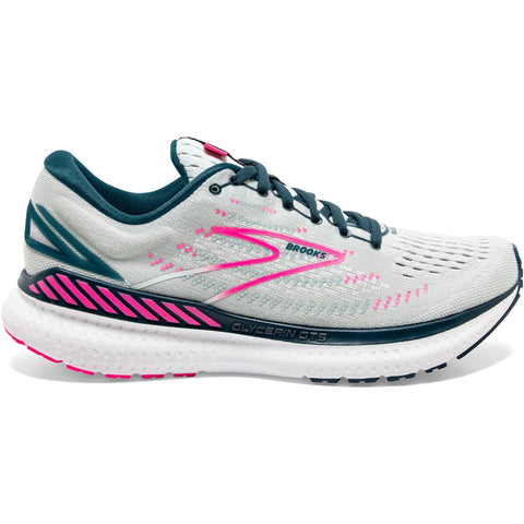 BROOKS GLYCERIN GTS 19 ICE FLOW NAVY PINK WOMEN'S