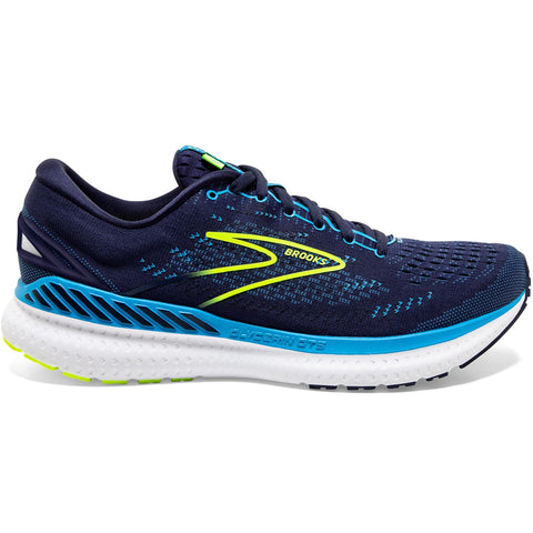 BROOKS GLYCERIN GTS 19 NAVY BLUE NIGHTLIFE MEN'S