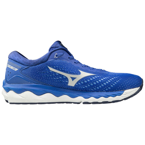MIZUNO WAVE SKY 3 WOMEN'S DANUBE BLUE CLOUD ULTRAMARINE