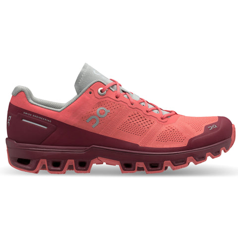 On Cloudventure Women's Coral Mulberry