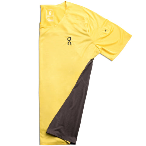 ON PERFORMANCE T MEN'S MUSTARD PEBBLE