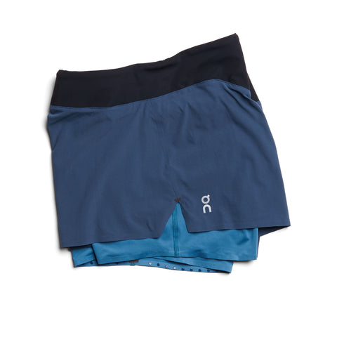 ON RUNNING SHORTS WOMEN'S NAVY