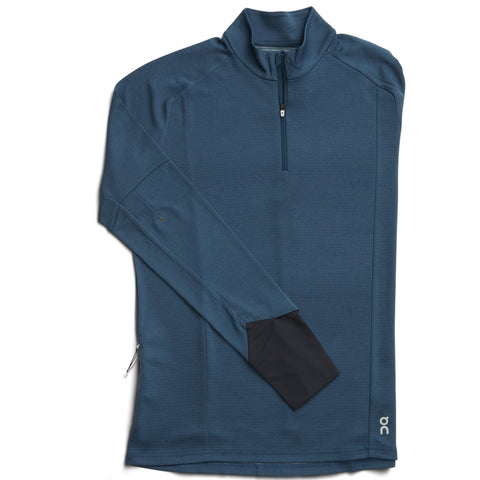 ON RUNNING WEATHER SHIRT MEN'S NAVY