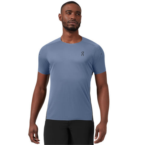 On Running Performance Tee Men's Cerulean Black