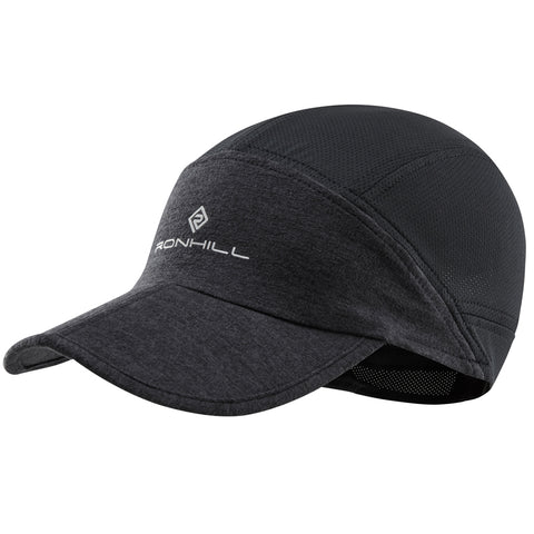 RONHILL AIR-LITE CAP CHARCOAL MARL - BLACK