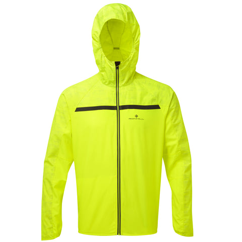 RONHILL MEN'S MOMENTUM AFTERLIGHT JACKET  FLUO YELLOW