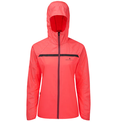 RONHILL MOMENTUM AFTERLIGHT JACKET  WOMEN'S HOT PINK
