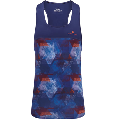 Ronhill Stride Revive Vest Men's Midnight Blue - Flame