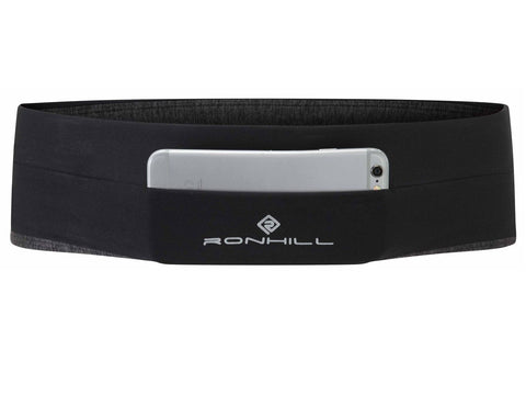 RONHILL STRETCH WAIST POCKET BLACK