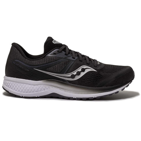 SAUCONY OMNI 19 MEN'S BLACK - WHITE