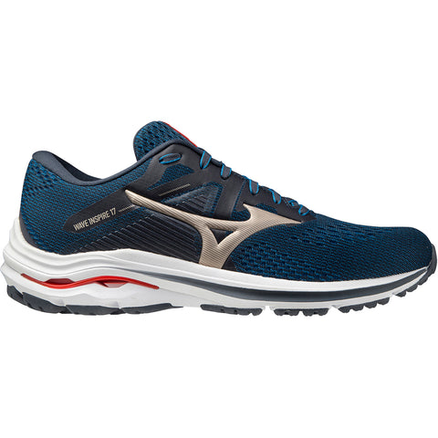 MIZUNO WAVE INSPIRE 17 MEN'S  INDIA/GOLD/IGNITIONRED