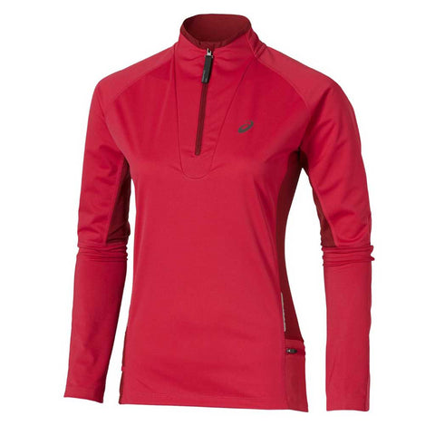 Asics Fuji Trail Women's Long Sleeve 1/2 Zip top