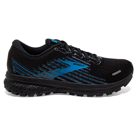 BROOKS GHOST 13 GTX MEN'S BLACK GREY BLUE