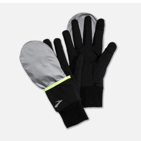 Brooks Nightlife Glove Black Reflect