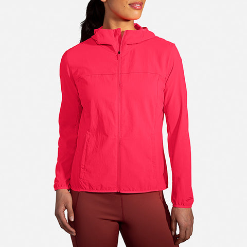 Brooks Canopy Jacket Women's Fluro Pink
