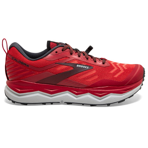 Brooks Caldera 4 Men's High Risk Red Ebony Grey