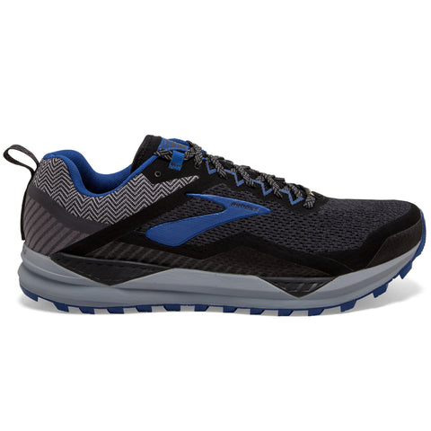 BROOKS CASCADIA 14 GTX MEN'S  BLACK  GREY BLUE