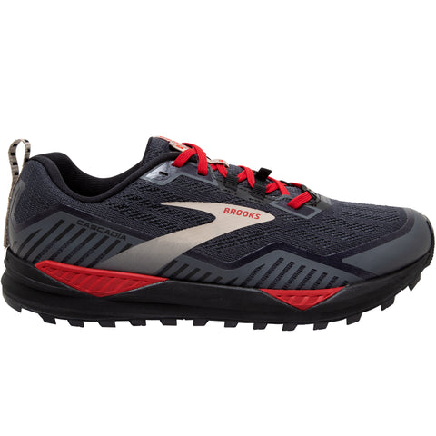 Brooks Cascadia 15 GTX Men's Black Ebony Red