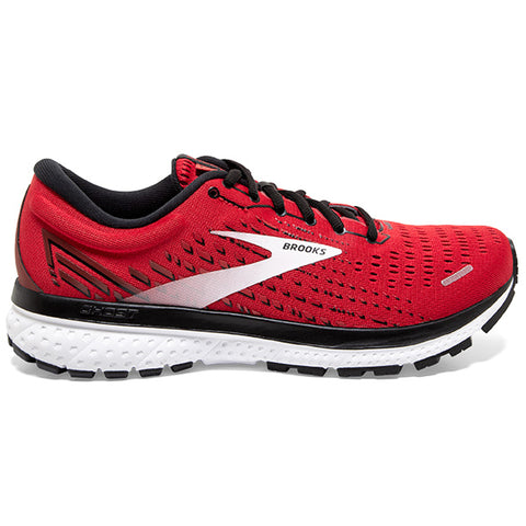 Brooks Ghost 13 Men's Samba Red Black White