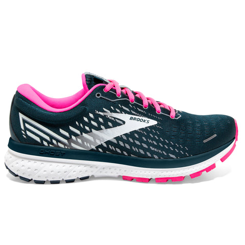 Brooks Ghost 13 Women's Reflective Pond Pink Ice
