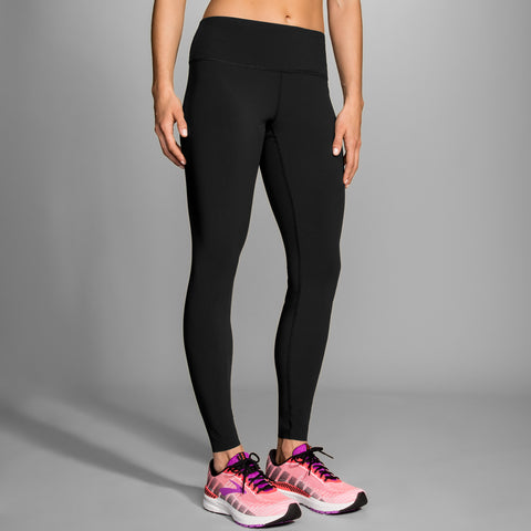 BROOKS WOMEN'S GHOST TIGHT BLACK